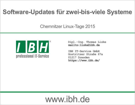 Software-Updates für zwei-bis-viele Systeme